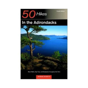 photo: Countryman Press 50 Hikes in the Adirondacks us northeast guidebook
