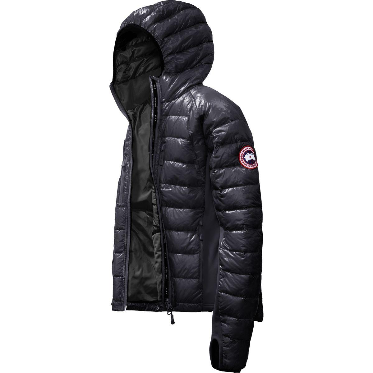 photo: Canada Goose Men's HyBridge Lite Hoody down insulated jacket
