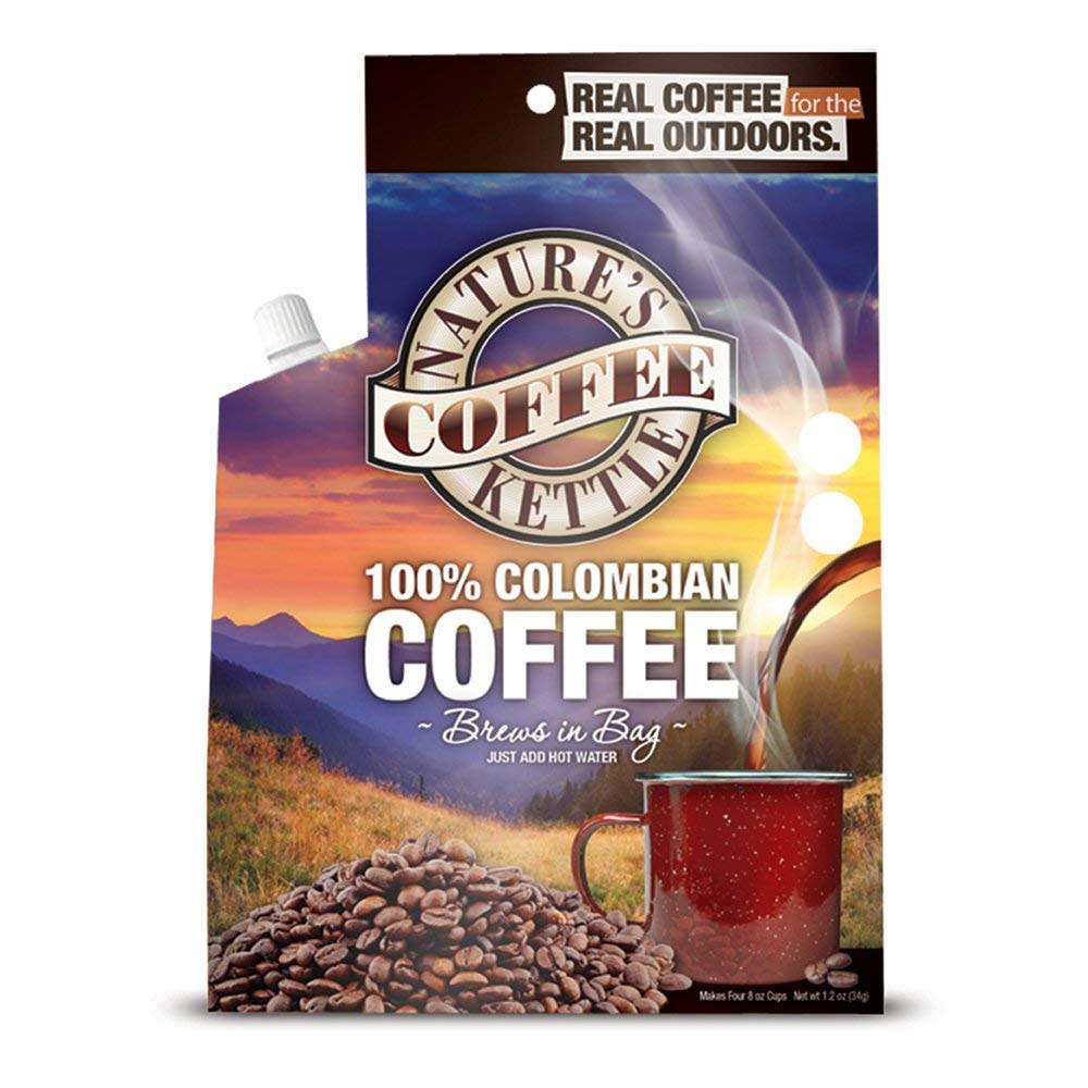 Nature's Coffee Kettle Colombian Coffee