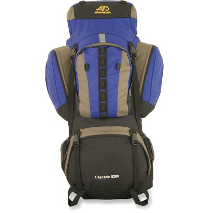 photo: ALPS Mountaineering Cascade 5200 expedition pack (70l+)