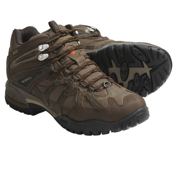 photo: Merrell Ridgeline Mid trail shoe