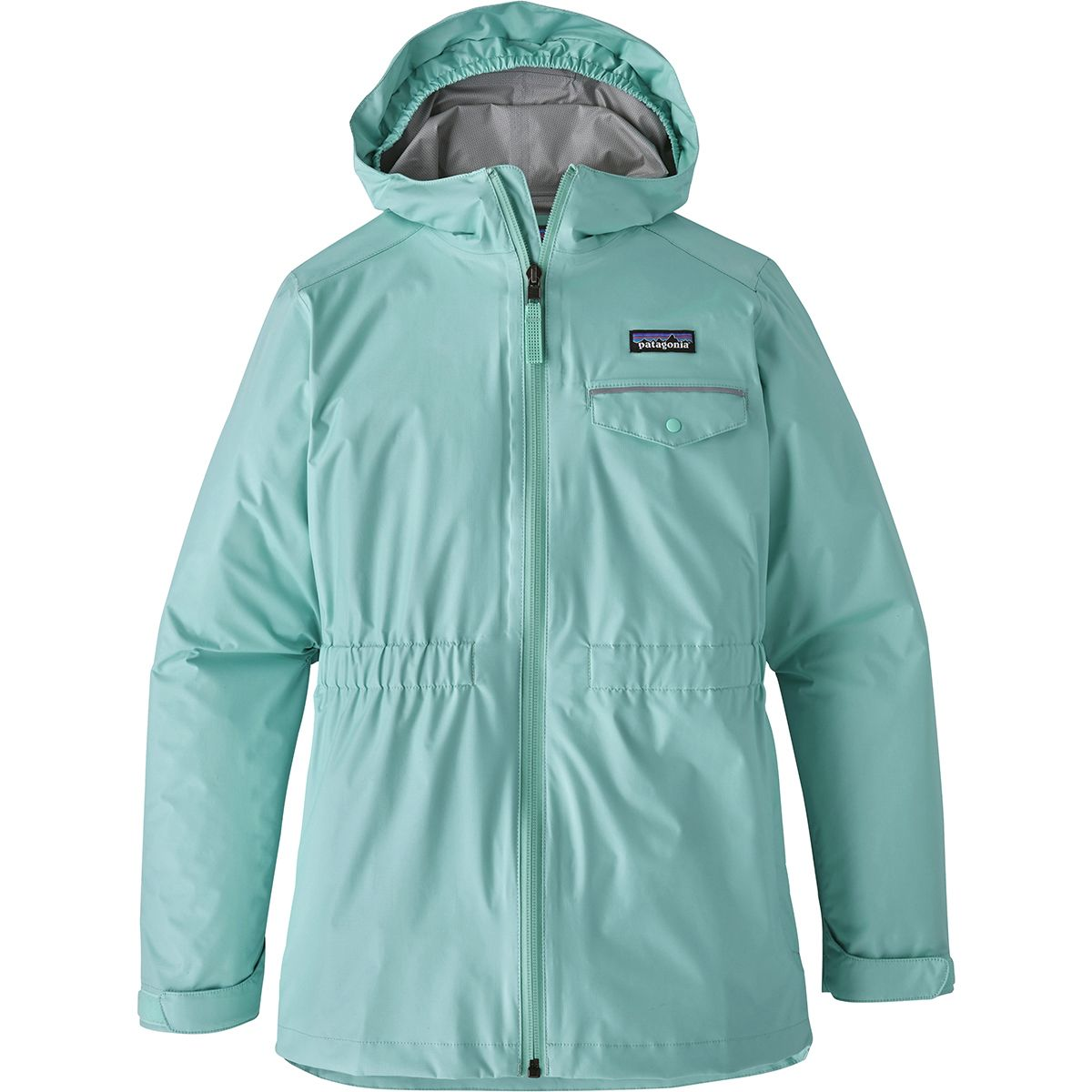 photo: Patagonia Girls' Torrentshell Jacket waterproof jacket