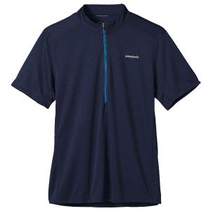 Patagonia Short-Sleeved Fore Runner Zip-Neck