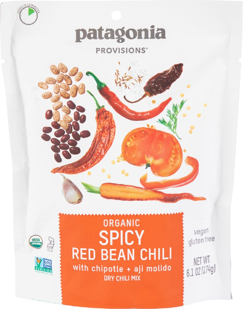 photo: Patagonia Provisions Organic Spicy Red Bean Chili soup