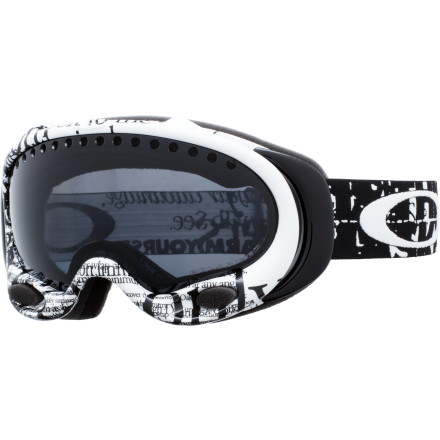 photo: Oakley Polarized A-Frame goggle