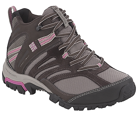 photo: Columbia Women's Shasta Ridge Mid Omni-Tech hiking boot