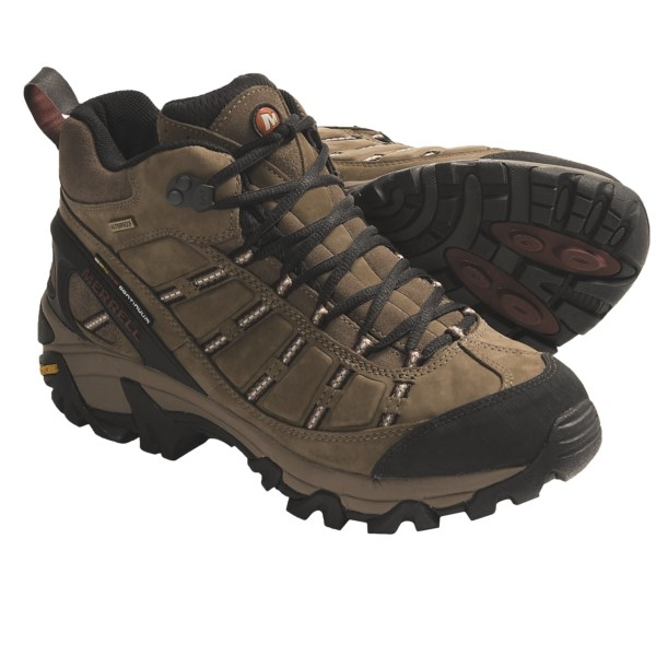 photo: Merrell Outland Mid Waterproof hiking boot