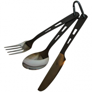 Optimus 3-Piece Titanium Cutlery Set