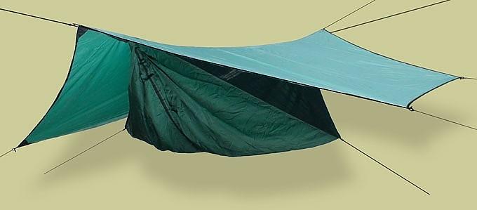 photo: Hennessy Hammock Safari Deluxe Asym Zip hammock