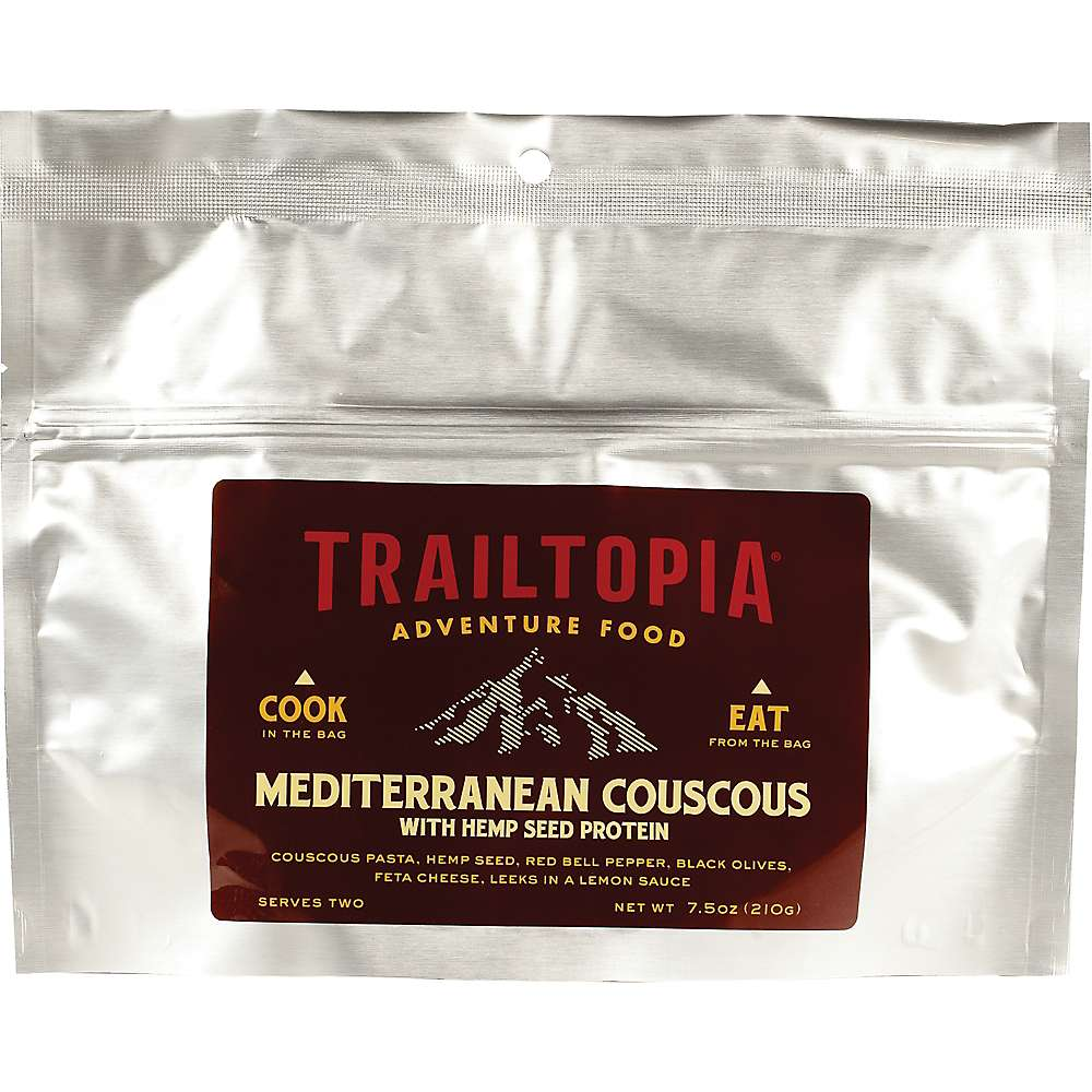 Trailtopia Mediterranean Couscous with Hemp Seed Protein