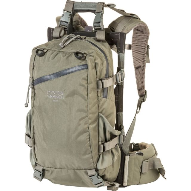 photo: Mystery Ranch Mule external frame backpack