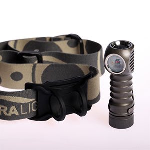ZebraLight H502r Red AA Flood Headlamp