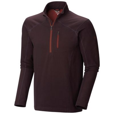 photo: Mountain Hardwear Cragger Long Sleeve Zip T long sleeve performance top