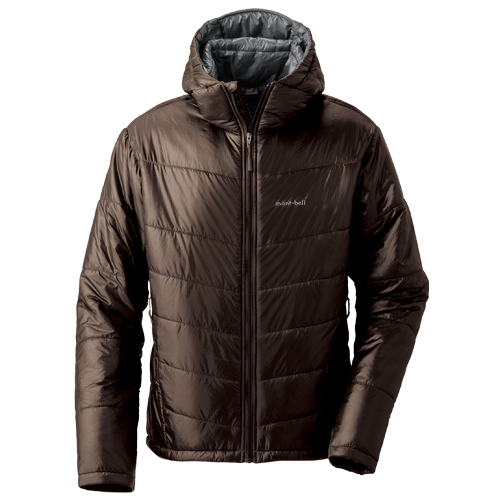 photo: MontBell U.L. Thermawrap Parka synthetic insulated jacket