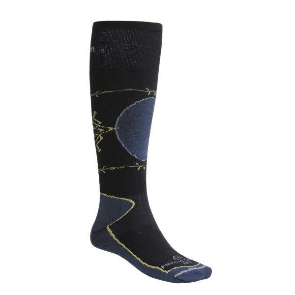 Lorpen Super Lightweight Ski Socks Merino Wool Over-the-Calf