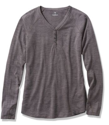 L.L.Bean Mountain Trail Merino Henley