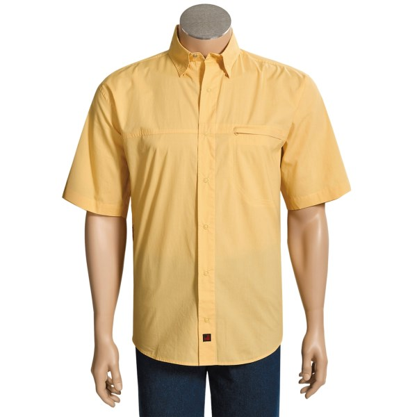 photo: Woolrich Tapron Springs hiking shirt