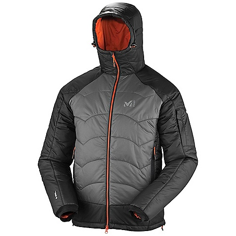 photo: Millet Belay Device Jacket synthetic insulated jacket