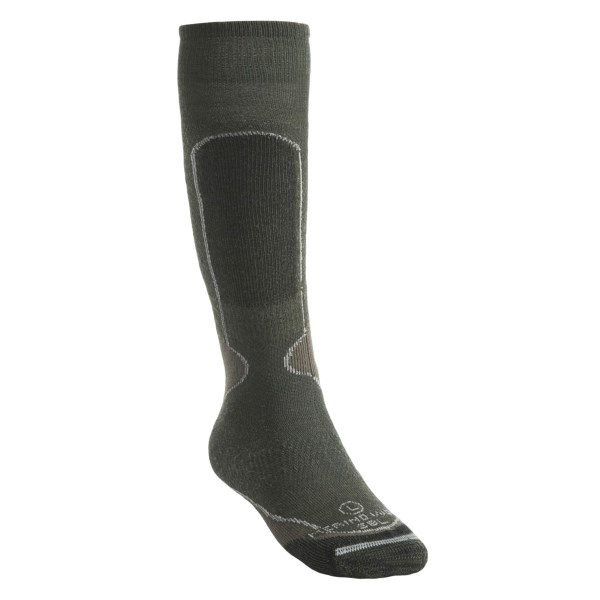 photo: Lorpen Medium Weight Ski Socks Over-the-Calf snowsport sock