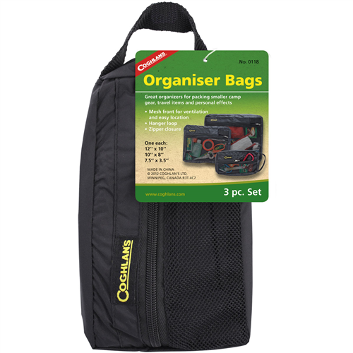 Coghlan's Nylon/Mesh Organizer Bags