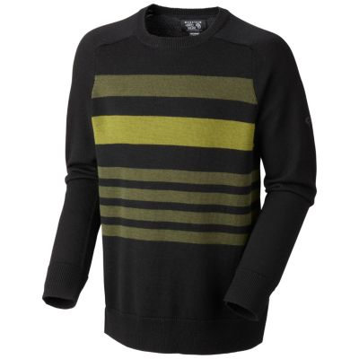 photo: Mountain Hardwear Merino Knit Stripe Sweater long sleeve performance top