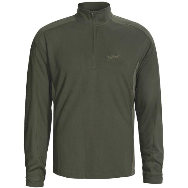 photo: Woolrich Destination Color-Block Shirt hiking shirt