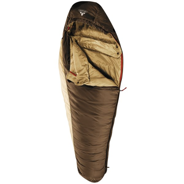 photo: VauDe Blue Beech 600 3-season synthetic sleeping bag