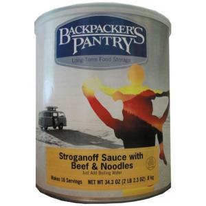 photo: Backpacker's Pantry Beef Stroganoff Complete Dinner meat entrée