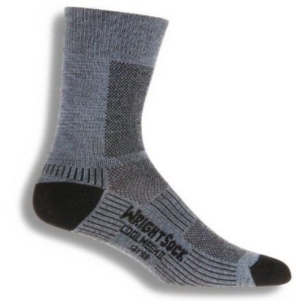 photo: WrightSock Coolmesh II Crew Sock hiking/backpacking sock