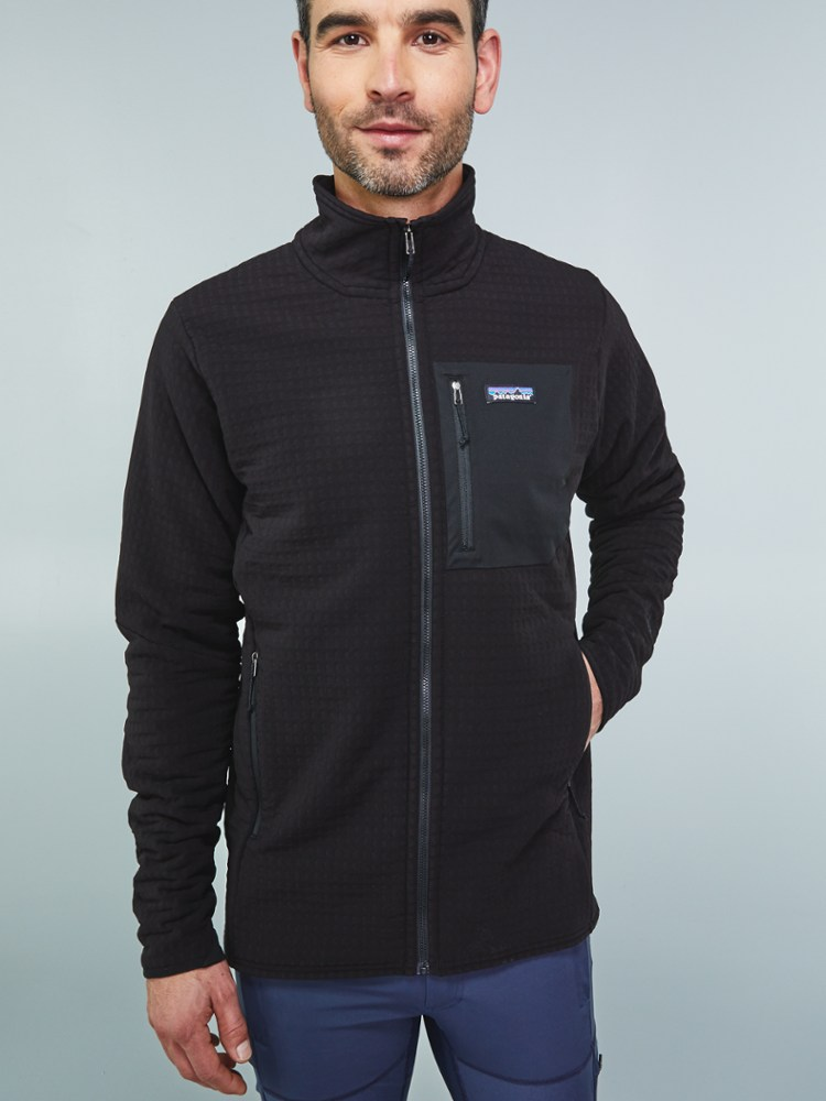 photo: Patagonia R2 TechFace Jacket fleece jacket
