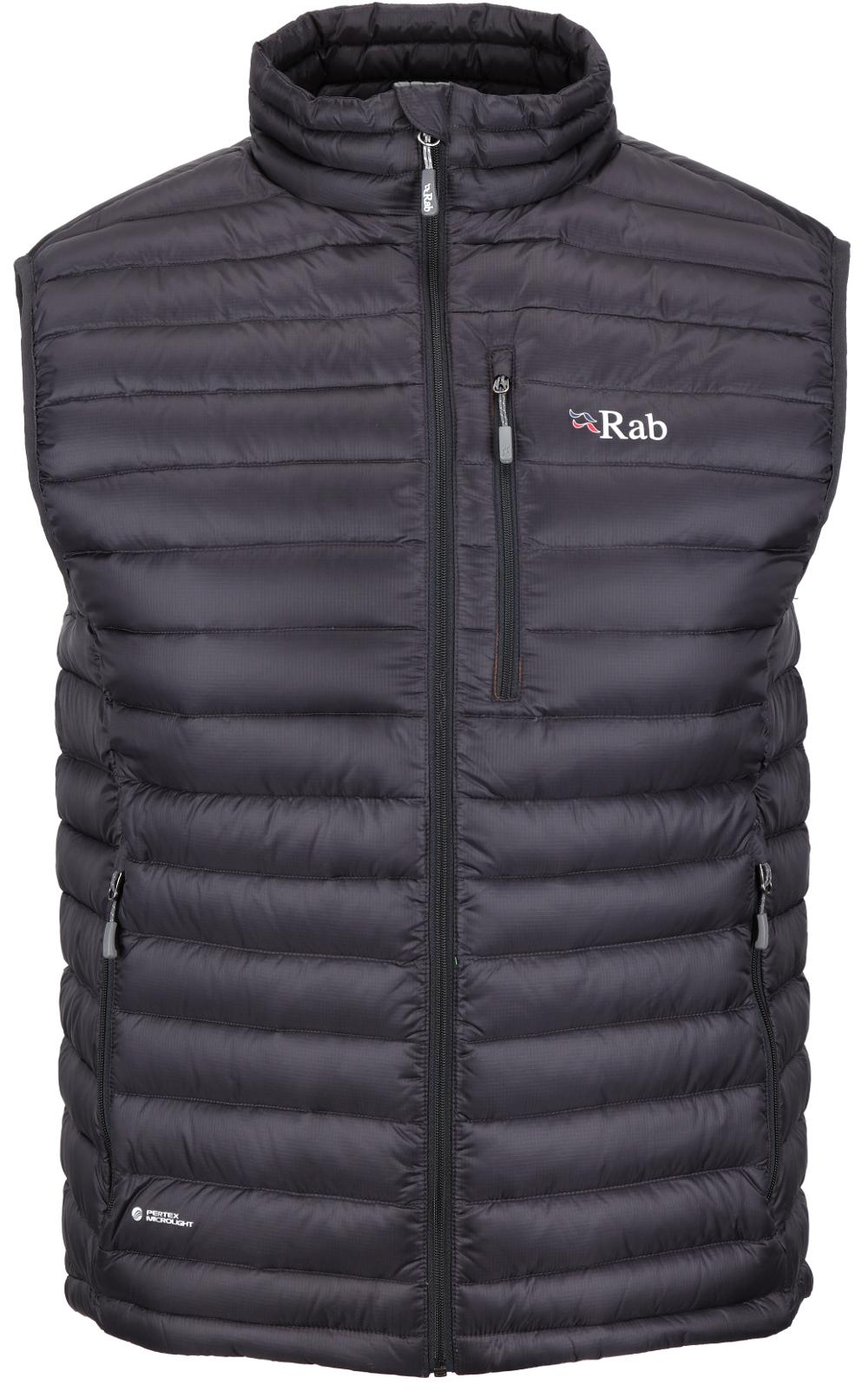 photo: Rab Men's Microlight Vest down insulated vest