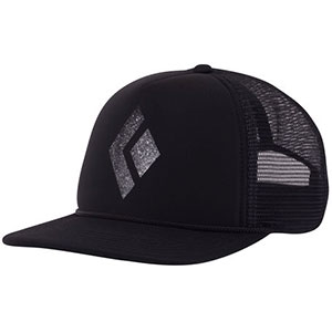 Black Diamond Flat Bill Trucker Hat