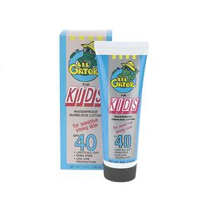 Aloe Gator Lil' Gator Kids SPF 40 Lotion