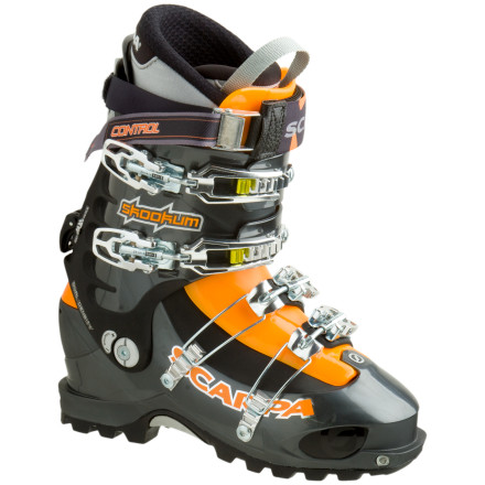 photo: Scarpa Skookum alpine touring boot