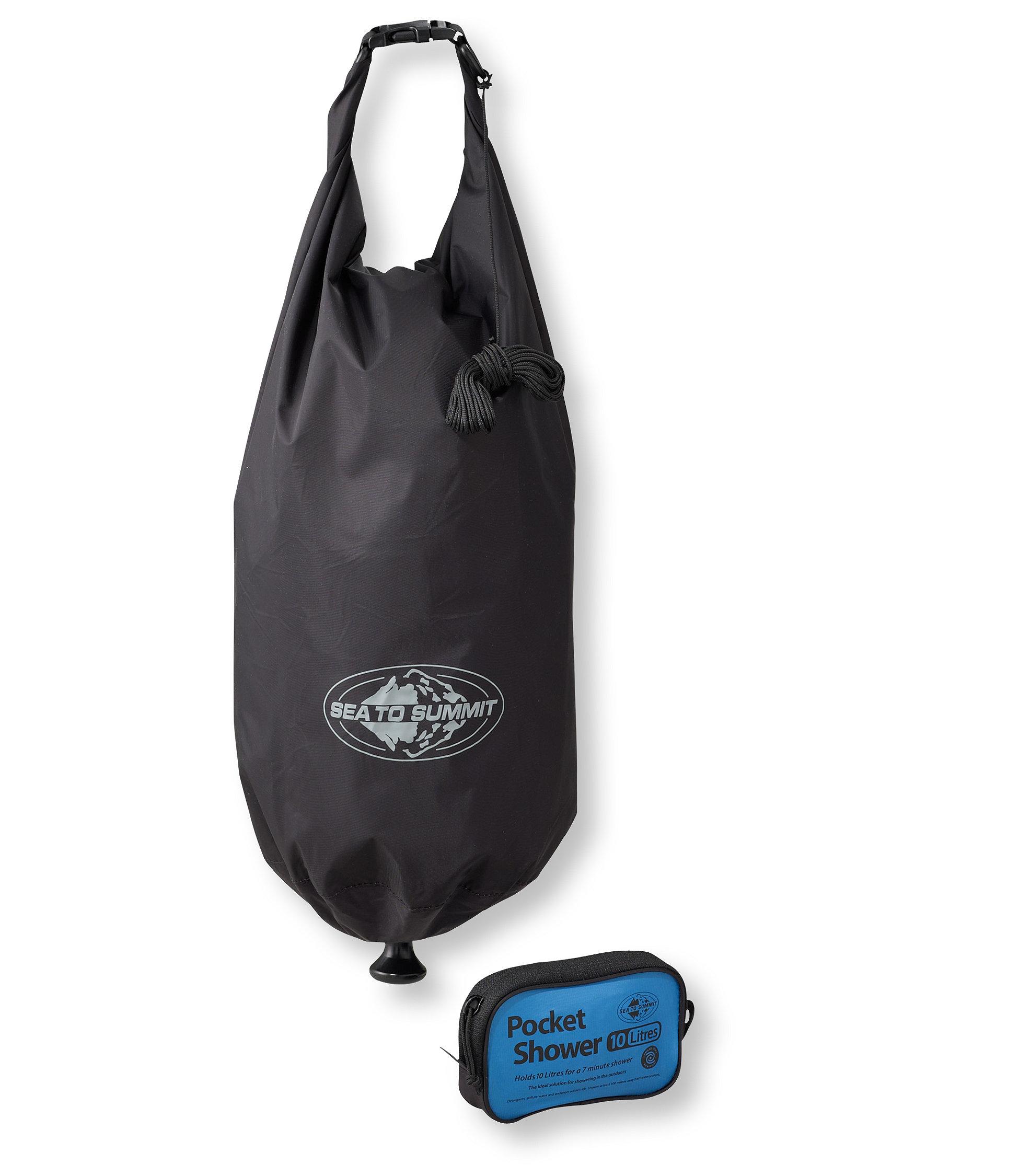 photo: Sea to Summit Pocket Shower hygiene supply/device