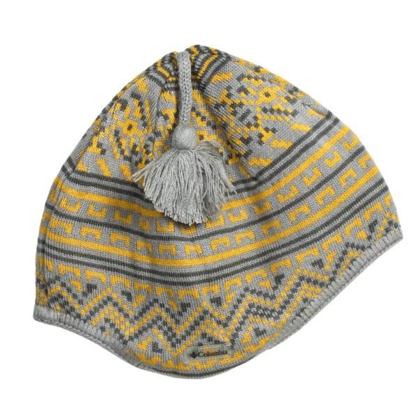 photo: Columbia Double Black Beanie winter hat