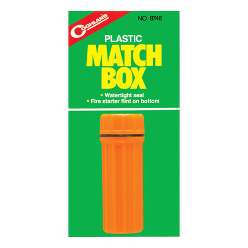 photo: Coghlan's Plastic Match Box storage container