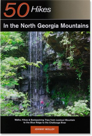 photo: Countryman Press 50 Hikes in the North Georgia Mountains us south guidebook