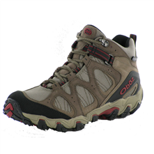 photo: Oboz Rimrock Mid BDry hiking boot