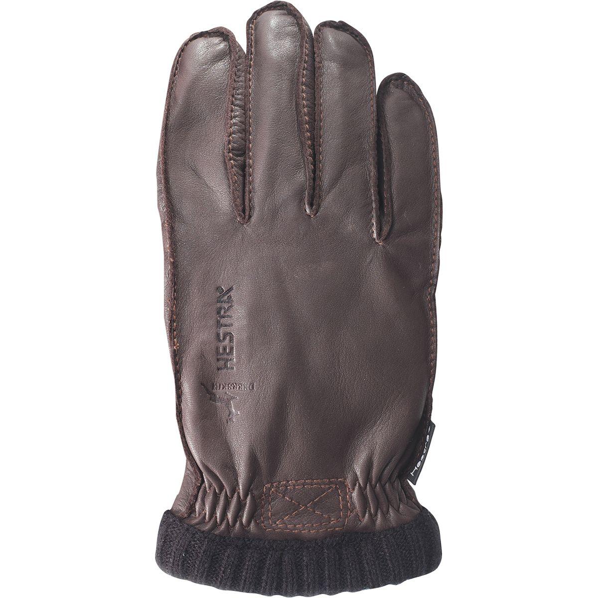 photo: Hestra Deerskin PrimaLoft Ribbed Gloves insulated glove/mitten
