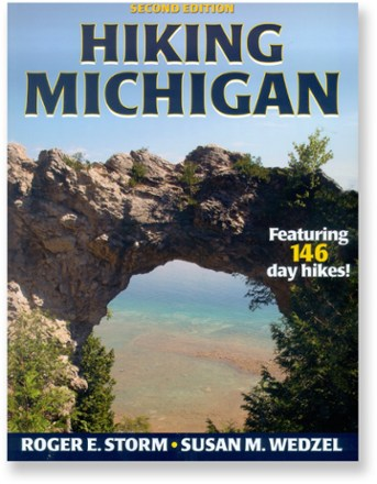 photo: Human Kinetics Hiking Michigan - 2nd Edition us midwest guidebook