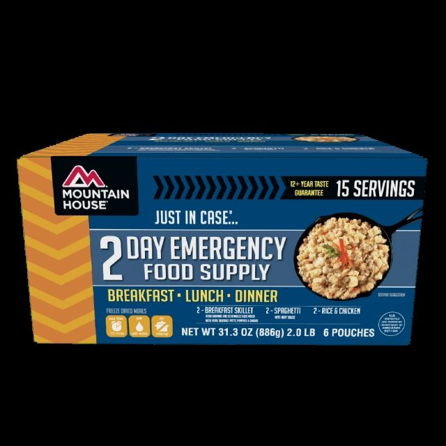 photo: Mountain House Just In Case 2 Day Emergency Food Supply food/drink