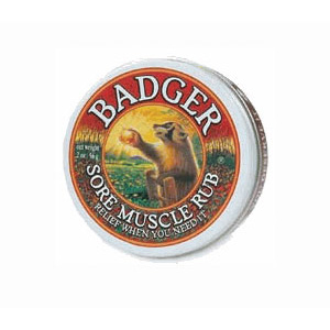 photo: Badger Sore Muscle Rub first aid supply