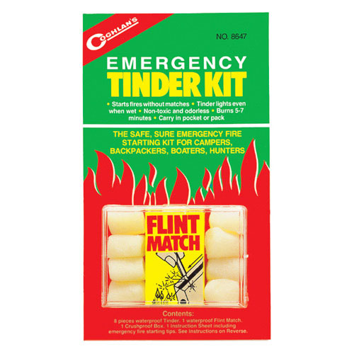 photo: Coghlan's Emergency Tinder Kit fire starter