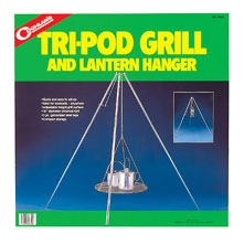 photo: Coghlan's Tri-Pod Grill and Lantern Hanger stove accessory