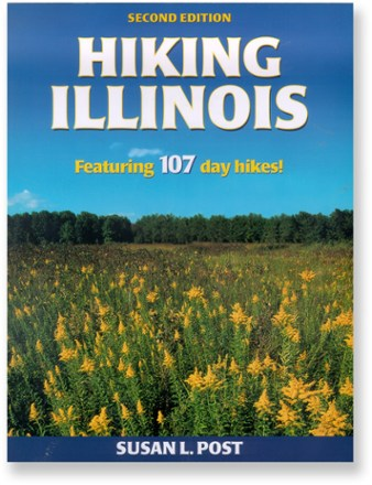 photo: Human Kinetics Hiking Illinois us midwest guidebook