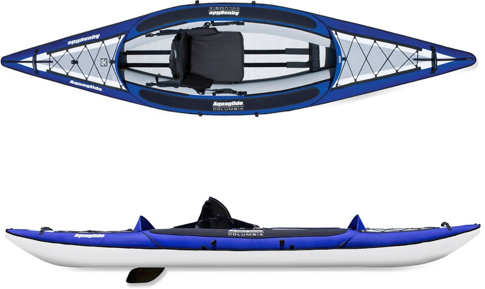 photo: Aquaglide Columbia XP One inflatable kayak