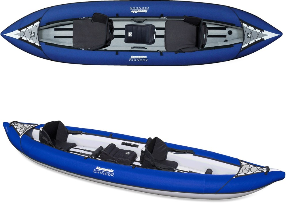 photo: Aquaglide Chinook XP Tandem XL inflatable kayak