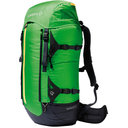 photo: Norrona Falketind Pack 45L overnight pack (2,000 - 2,999 cu in)