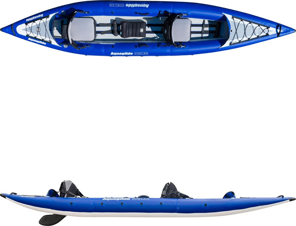 photo: Aquaglide Chelan HB Tandem XL inflatable kayak